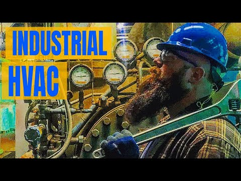 Why I love Industrial HVAC🛠 (but Residential & Commercial are cool too👍)