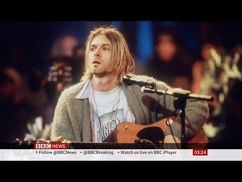Crystal - VIDEO:  Kurt Cobain's MTV Unplugged Cardigan Sweater Sells For $334,000