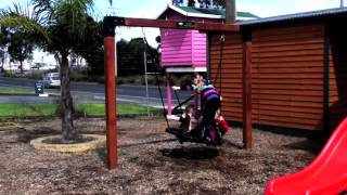 Swing Attachment For Kids Cubby Houses: The Birds Nest