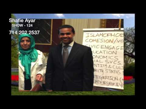124 - Simin Omar in the Whitehouse by Shafie Ayar