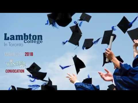Winter 2018 Convocation (Full)|Lambton College In Toronto