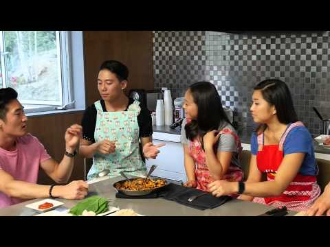 Korean Adoptees Talk Korean Food! w DANakaDAN, Sam Futerman,  Jenna Ushkowitz ASIANISH BONUS