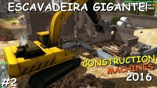 Demolindo Ruinas de Shop com Escavadeira - Construction Machines Simulator 2016 #2