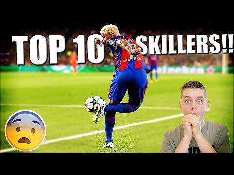 TOP 10 BESTE SKILLERS OOIT IN VOETBAL!!