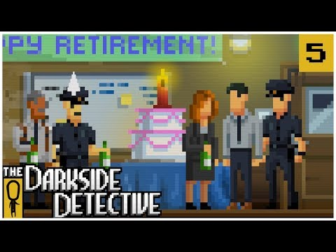 POLICE FARCE - The Darkside Detective EP. 5 - Lets Play The Darkside Detective Gameplay