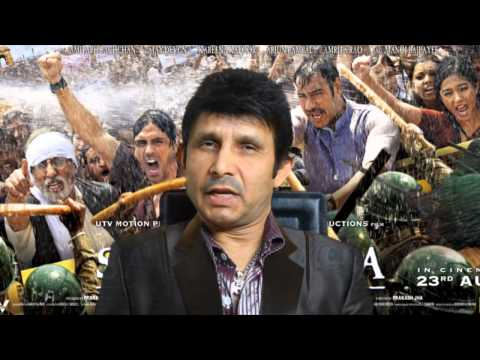 Satyagraha Review by KRK   KRK Live   Bollywood
