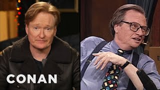 Conan Remembers Larry King - CONAN on TBS