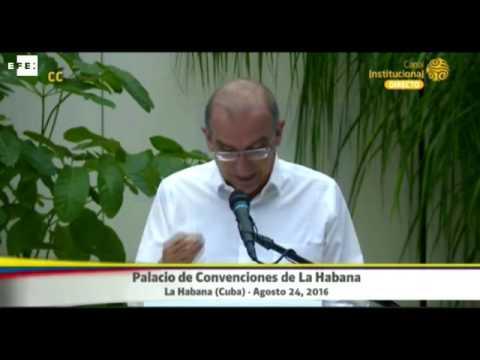 """De la Calle afirma que pacto final con las FARC es el """"mejor acuerdo posible"""""""