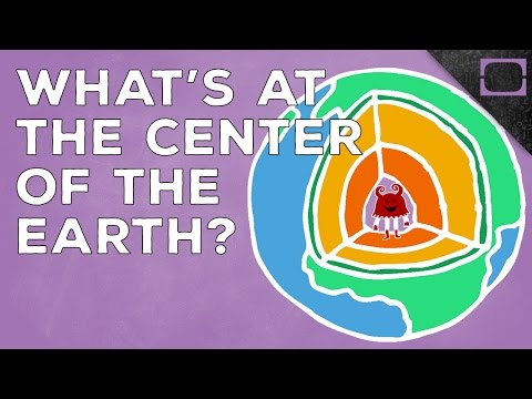 What Is The Center Of The Earth Made Of?