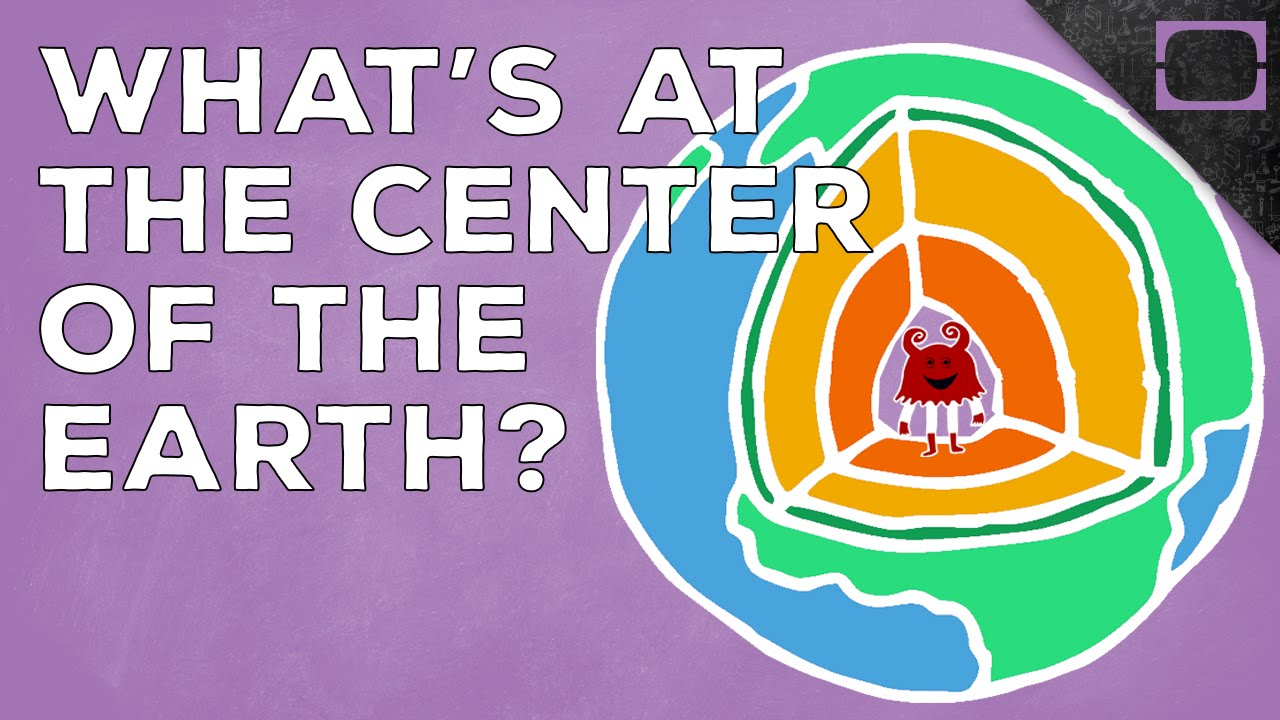 Whats in the center of the Earth