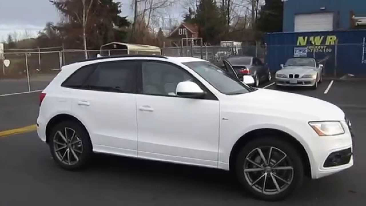 2015 Audi Q5 >> 2015 Audi Q5, Ibis White - STOCK# 110245 - Walk around - YouTube