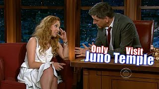 Juno Temple - She Is So Nervous, She Is Shaking - Her Only Appearance on Craig Ferguson [720p]