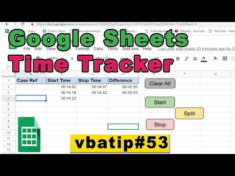 excel-time-tracker-using-google-sheets