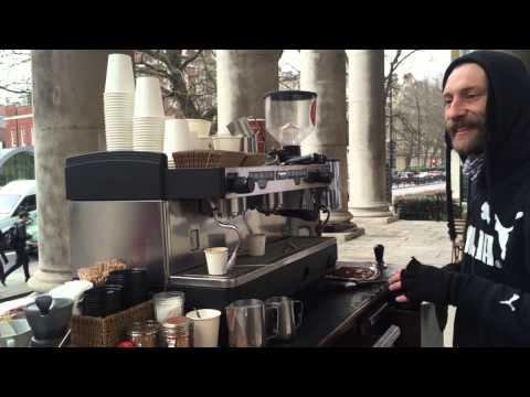 Coffee shop in London  documentary