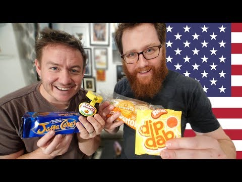 British Food Taste Test... in NYC!