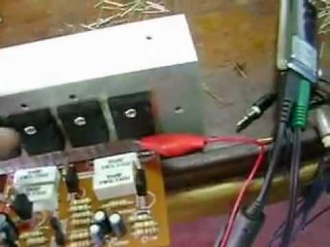Amplificador De Poder Mono Usando Toshiba 2sc Ee421