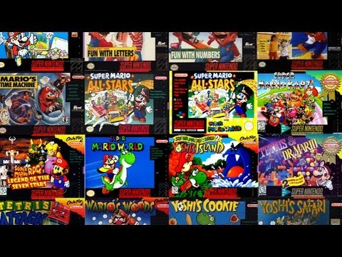 Top 10 SNES Games   YouTube Top 10 SNES Games