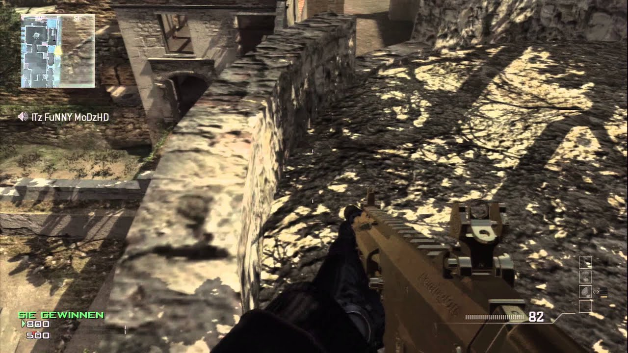 Cod Mw3 Out Of The Map Erosion Tutorialglitch Germandeutsch Ps3