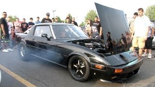 7 Second RX7 - Turbo bigger than the motor!