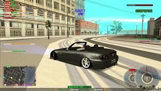 Grand Theft Auto  SAN ANDREAS  S2000 drift :)