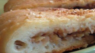 Пирог с яблоками и грецкими орехами. Яблочно-ореховый пирог в Princess. Вкуснейшая домашняя выпечка.