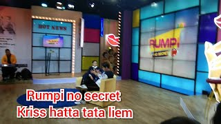 RUMPI NO SECRET KRISS HATTA DAN TATA LIEM 5 April 2019