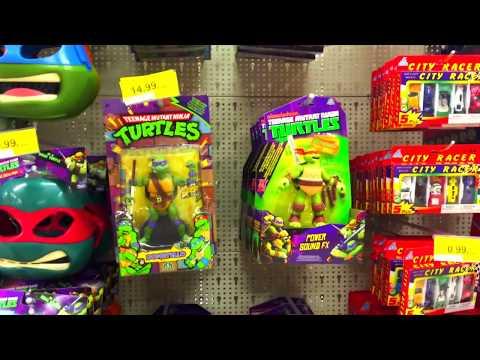 toys shopping on toy store  ninja turtlestransformersbatmanspidermanben 10disney cars