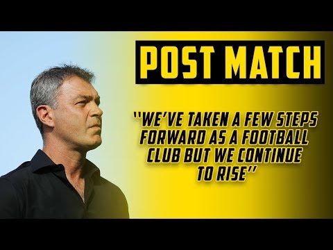 POST MATCH | Mark Rudan On Draw With Victory