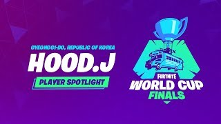 Fortnite World Cup Finals - Player Profile - Hood.J