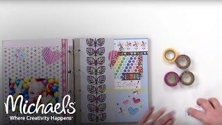 Make a Memory Book | Scrapbooking Basics | Michaels