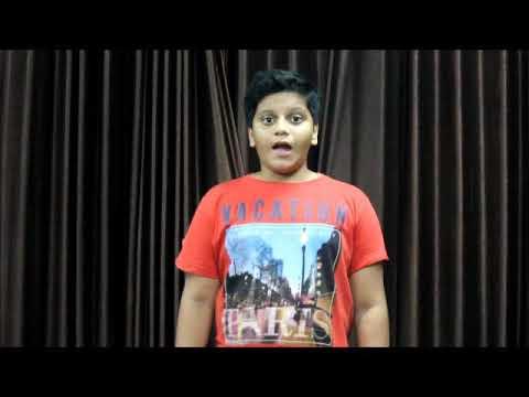 Act performance By Johaar Film & Theatre Academy student of Mast. Yuvraj Kalpak Patil