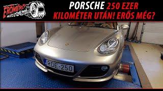 Totalcar Erőmérő: Porsche 250 ezer kilométer után! Erős még?