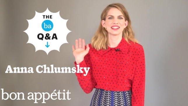 Anna Chlumsky's Recipe for Pasta w/ Broccoli & Egg | BA Q&A