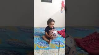 Bhuwan Playing Football