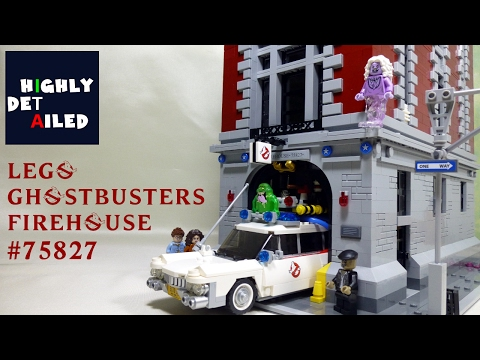 LEGO GHOSTBUSTERS CASERMA FIREHOUSE SET 75827 RECENSIONE REVIEW (ITA)