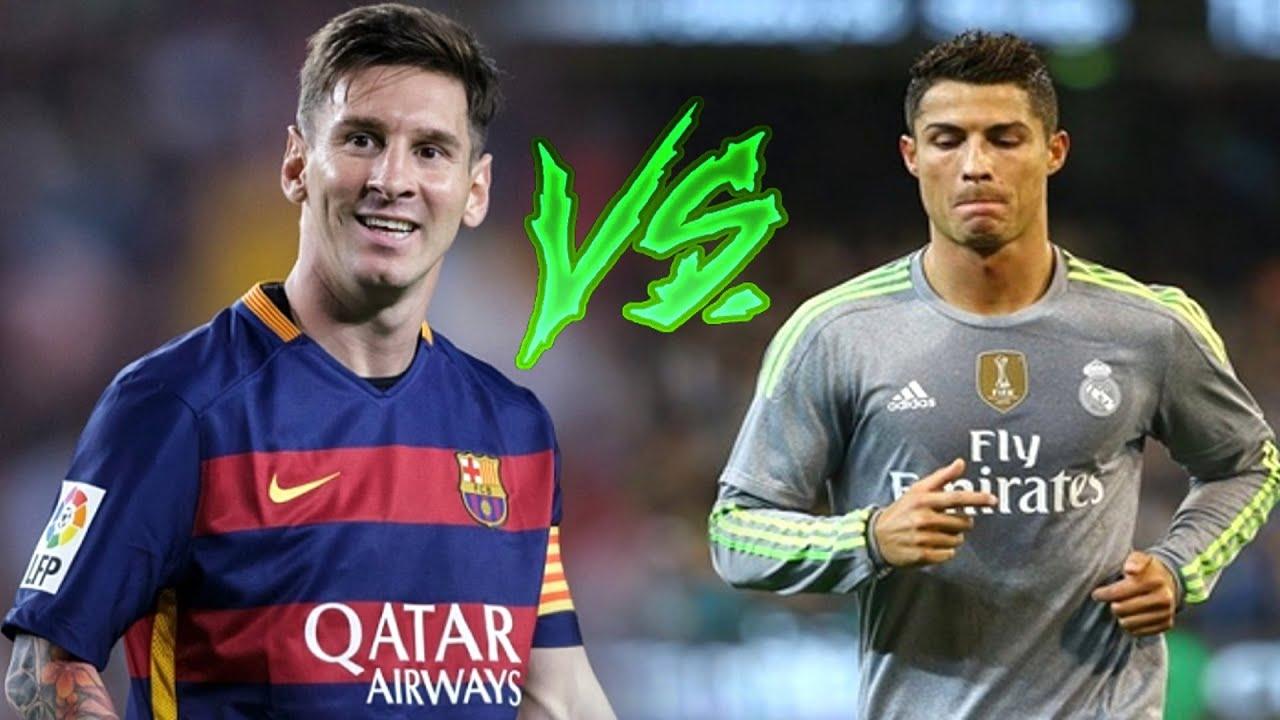 Lionel MeГџi Vs Cristiano Ronaldo
