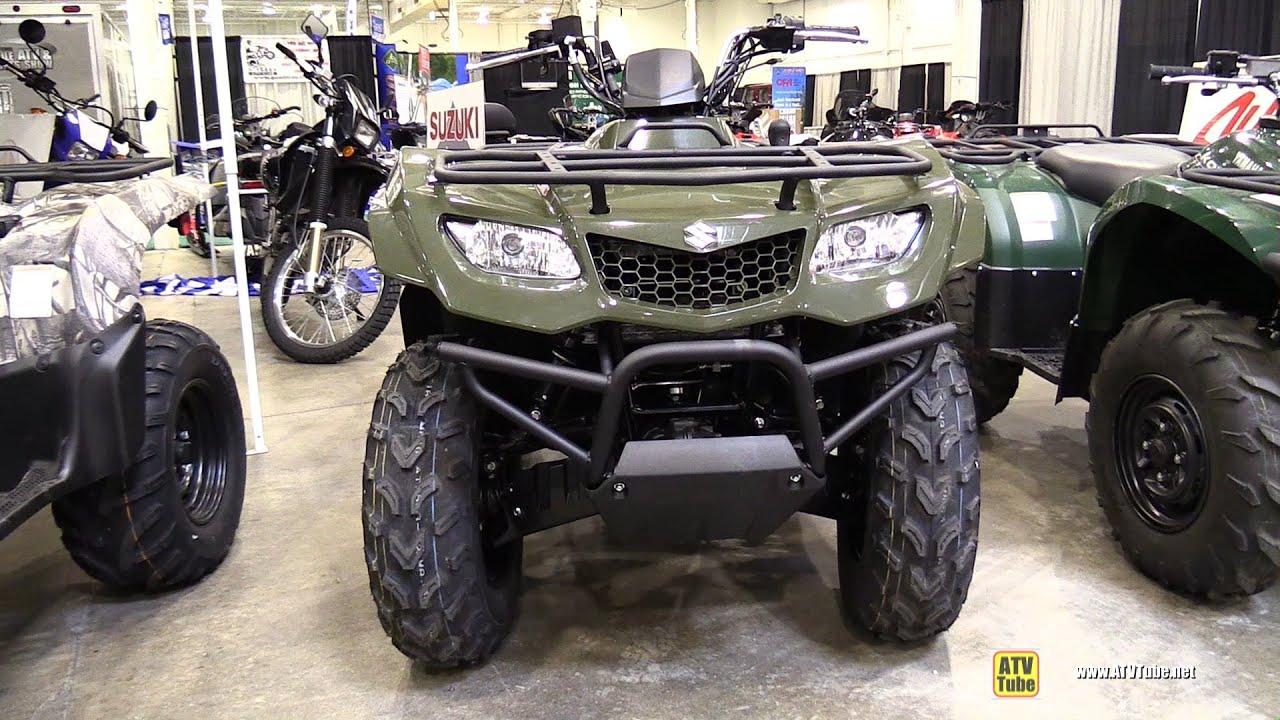 2014 Suzuki King Quad 400 FSI - Walkaround - 2014 Toronto ATV Show