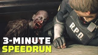 Resident Evil 2 Remake 'One-Shot Demo' Finished in About 3 Minutes - Speedrun