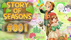 Story Of Seasons - Let's Play #001 【 Deutsch / German 】 - Erste Eindrücke