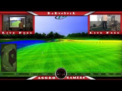 P3 Pro Swing Virtual Golf Simulator – Twitch.TV Live Stream – 9 Hole Round