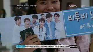 Kemeriahan Konser BTOB Hibur Para Fans IMS