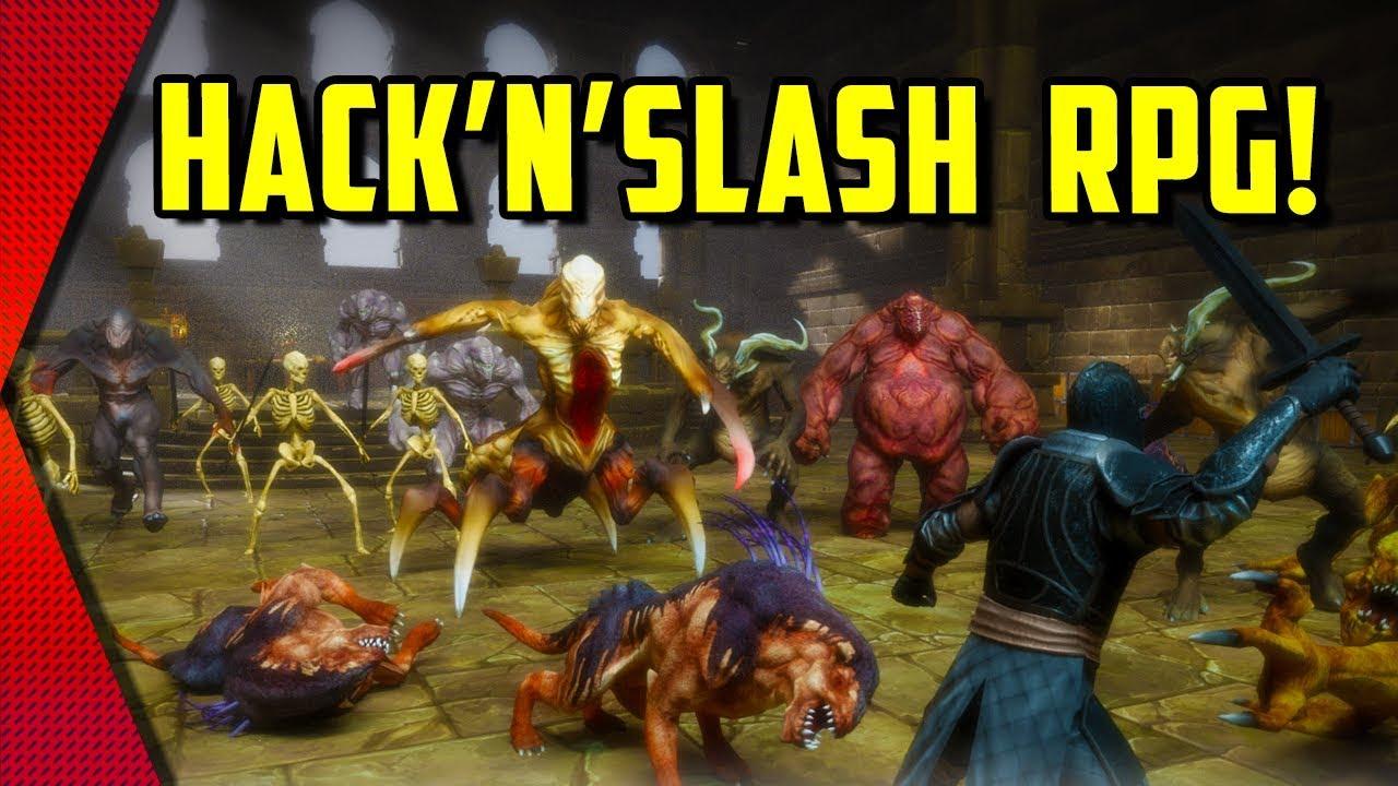 TotAL RPG - NEW ACTION HACK'N'SLASH RPG! (DIABLO MOBILE ALTERNATIVE) | MGQ  Ep  245