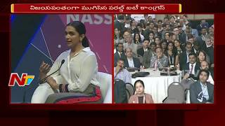 World IT Congress Successfully Ends || Sophia & Deepika Padukone Sp...