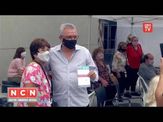 CINCO TV - Más vecinos y vecinas de Tigre recibieron la vacuna contra el COVID-19