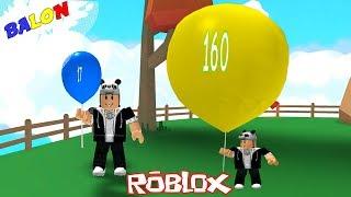Balon Şişirip Uçuyoruz! - Panda ile Roblox Balloon Simulator