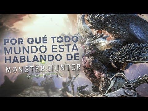 ¿Por qué todo mundo está hablando de Monster Hunter World?