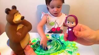 Маша и Медведь рисуют и учат цвета/ Amina объявляет конкурс/Masha end Bear/