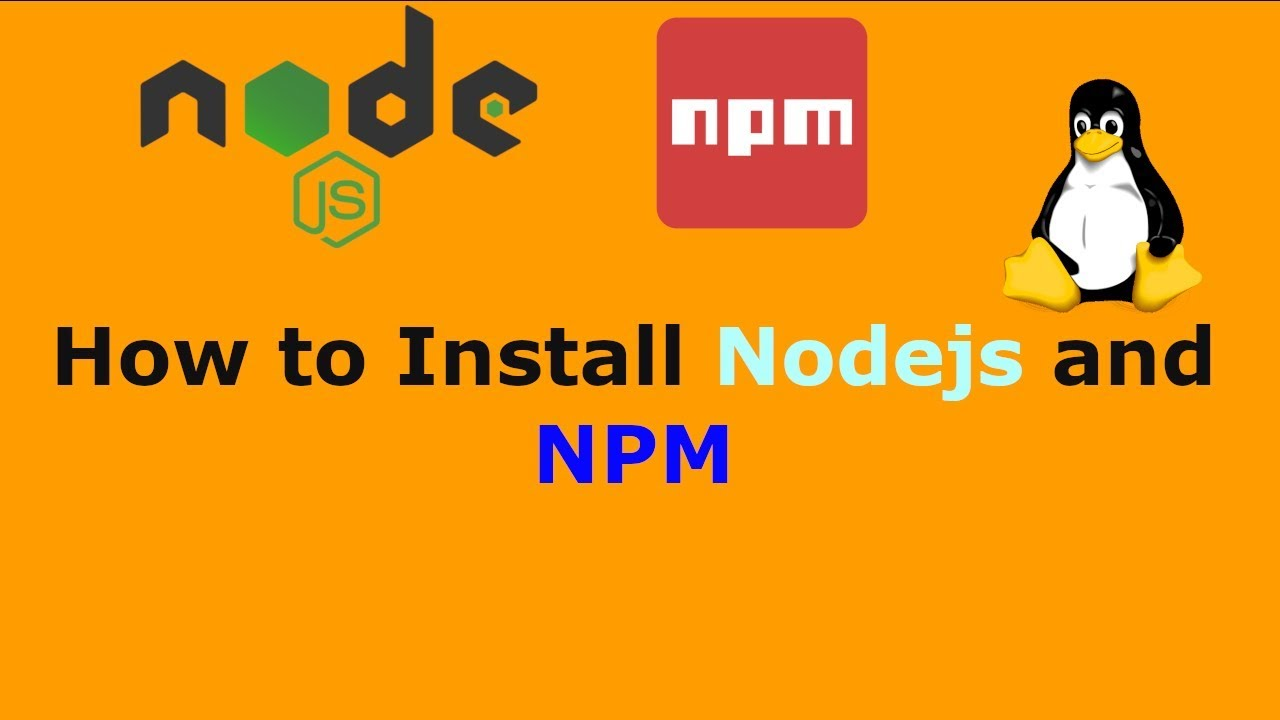 install npm and node ubuntu