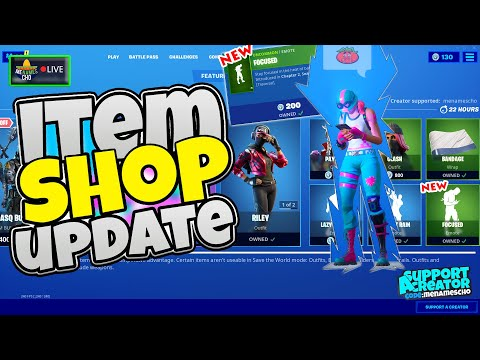 💥menamescho's-live-🔵-item-shop-update-📱-focused-emote---fortnite-battle-royale---5th-february-2020