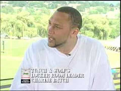 Tunch and Wolf - Steelers Charlie Batch